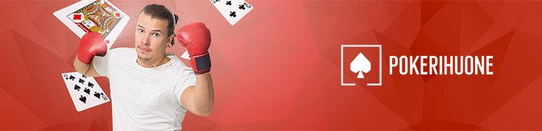 Kilpaile Pokerihuoneen freeroll-turnaussarjassa ja haasta Henri Koivisto