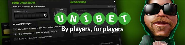 Unibetilta uusi bonuspaketti pokeriin